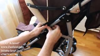 видео Кресло-коляска инвалидная для детей с ДЦП Vitea Care UMBRELLA NEW