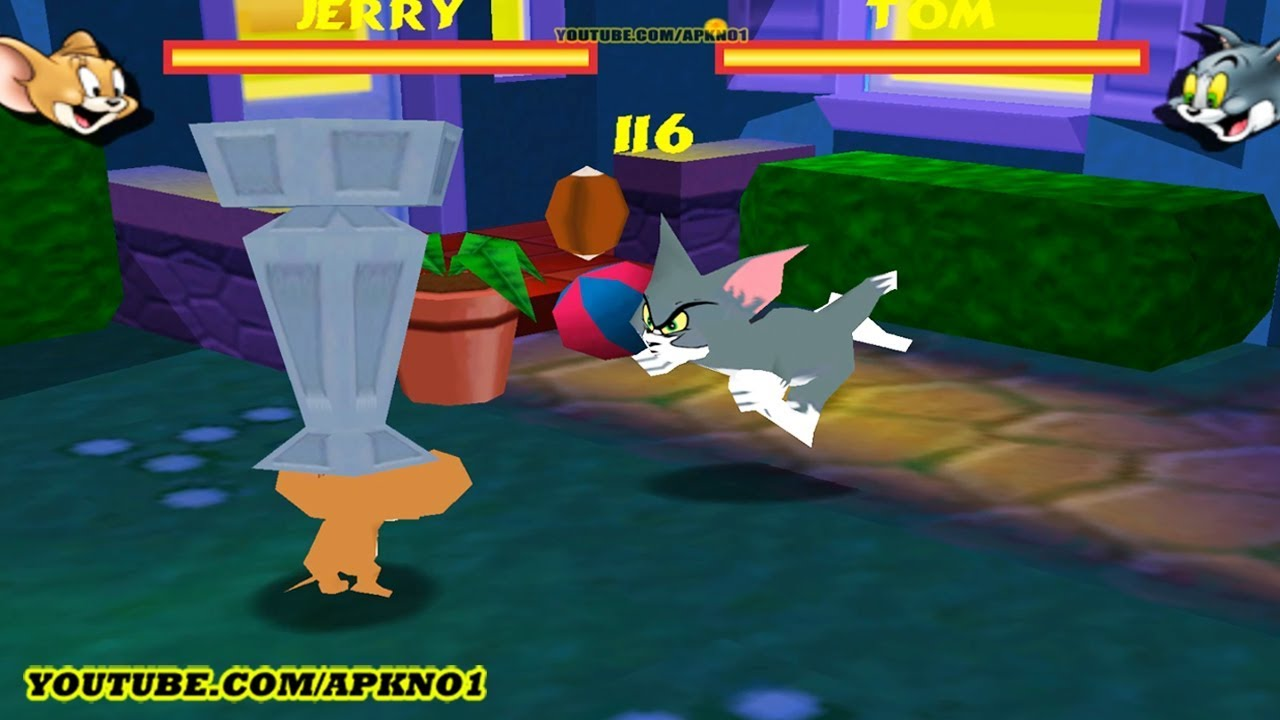 tom and jerry fight in the backyard tom and jerry cartoon games