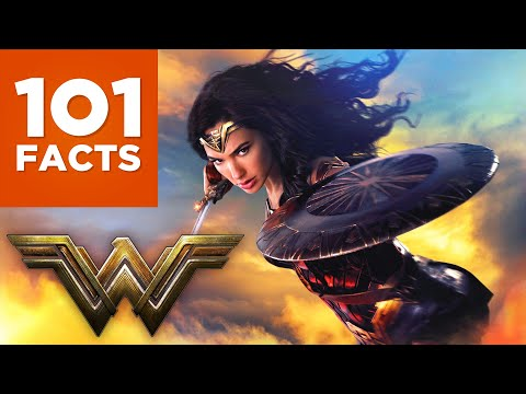 101 Facts About Wonder Woman