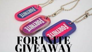 Fortnite Dog Tag Giveaway!