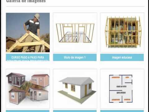 Como construir casa prefabricada youtube - Como construir una casa ...