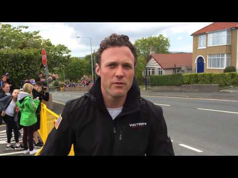 Dan Tye at the Isle of Man TT - Trustee - Inspiration Week Part 3