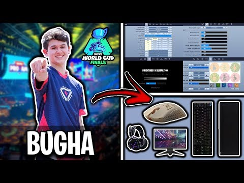 Bugha's Fortnite Settings, Keybinds & Setup That Won Him The World Cup! ($3 Million Earned)