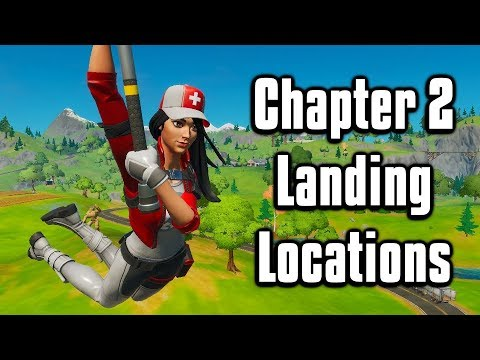 Ultimate Landing Locations For Arena + Scrims! - Fortnite Battle Royale