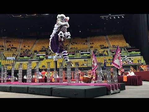 2018 World Luminous Lion Dance Championships - Preliminary Round - Jin Wu Koon