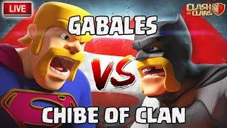 🔴 Chibe of clan VS Gabales | Une fin de guerre qui envoie du LOURD! | Clash of clans