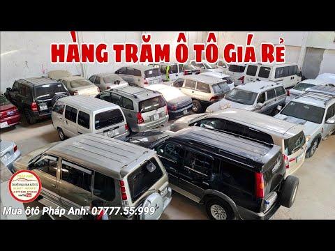 Tồn đọng hàng Trăm Chiếc Ôtô 29 triệu - Cả tỷ đồng trong kho Sài Gòn giảm 30tr chiếc (07777.55.999)