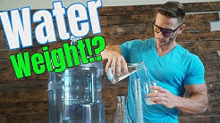 Fat Loss vs. Water Weight | Are You Losing Water Weight or REAL Weight? Diet & Weight Loss Tips
