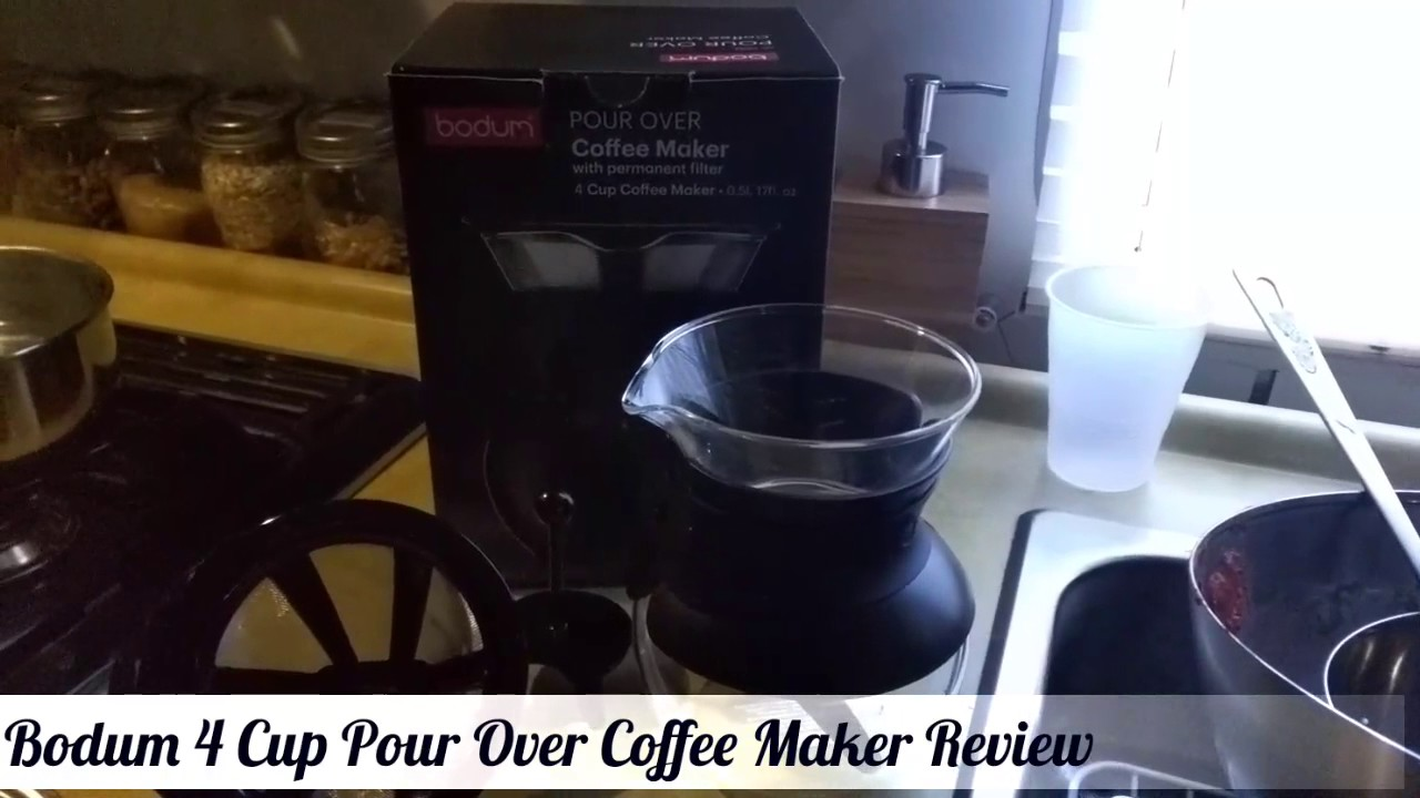 Review Of The Bodum Pour Over Coffee Maker