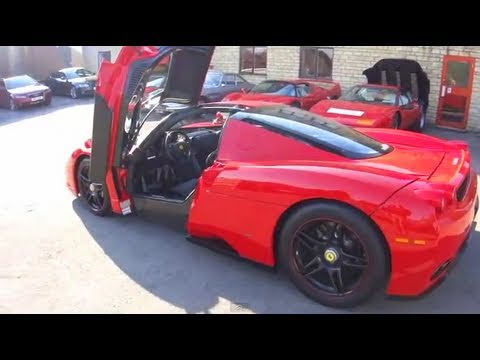 Ferrari Enzo part 1, night drive to the Col de Vence - evo diaries
