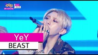 [HOT] BEAST - YeY, 비스트 - 예이 Show Music core 20150815