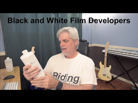 The Black And White Film Developers I'm Using