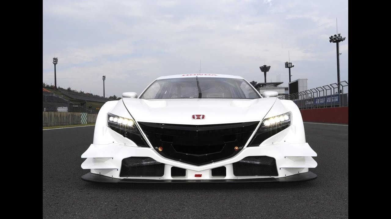 The New 2015 Honda NSX Concept GT Super Sport Car   YouTube