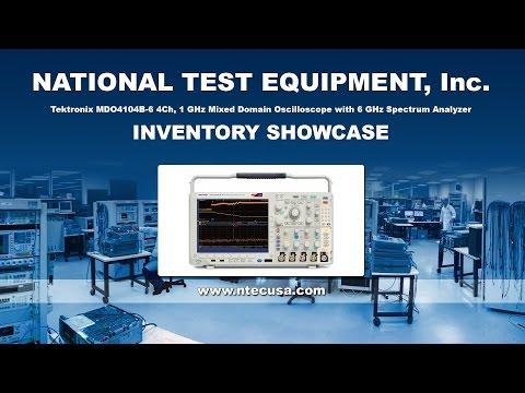 Tektronix MDO4104B-6 Equipment Showcase - National Test Equipment