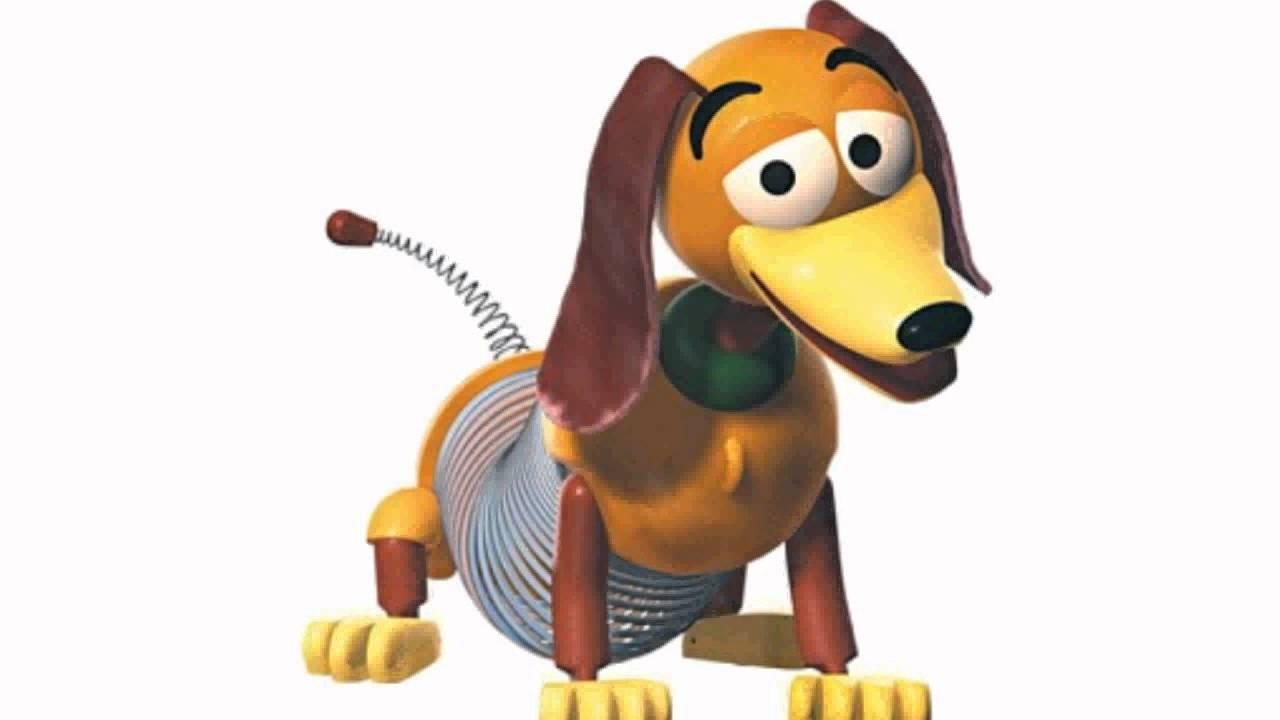 Poof-slinky 228BL Disney Pixar Toy Story Slinky Dog Jr . - YouTube