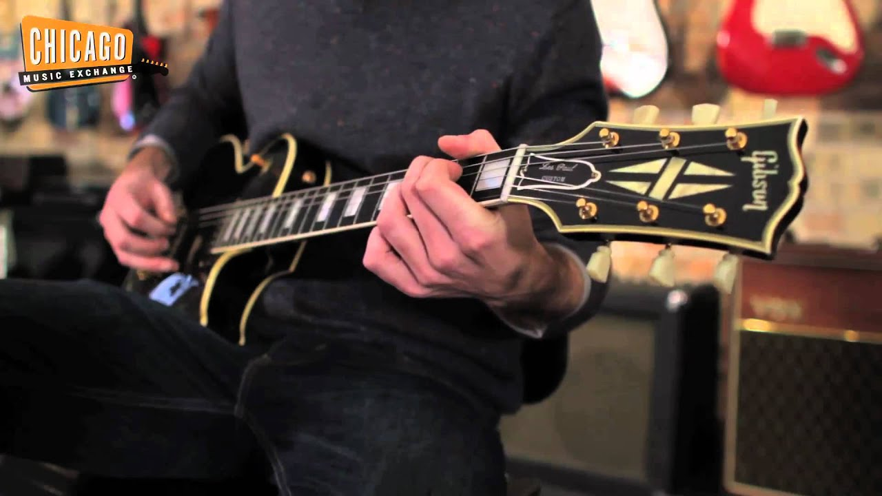 1956 gibson les paul custom youtube