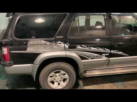 TOYOTA HILUX SURF 3.0 1kz 1997 год с аукционов Японии