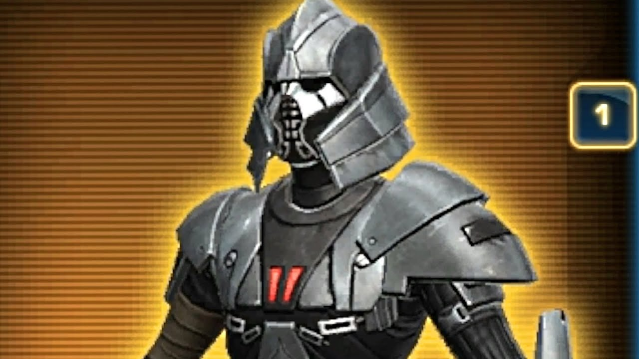 SWTOR Tulak Hord39s Armor Set Nightlife Pack PTS 28