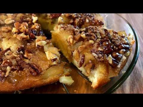 gâteau-au-rhum,-ananas-et-sirop-d'érable---jour-de-triche