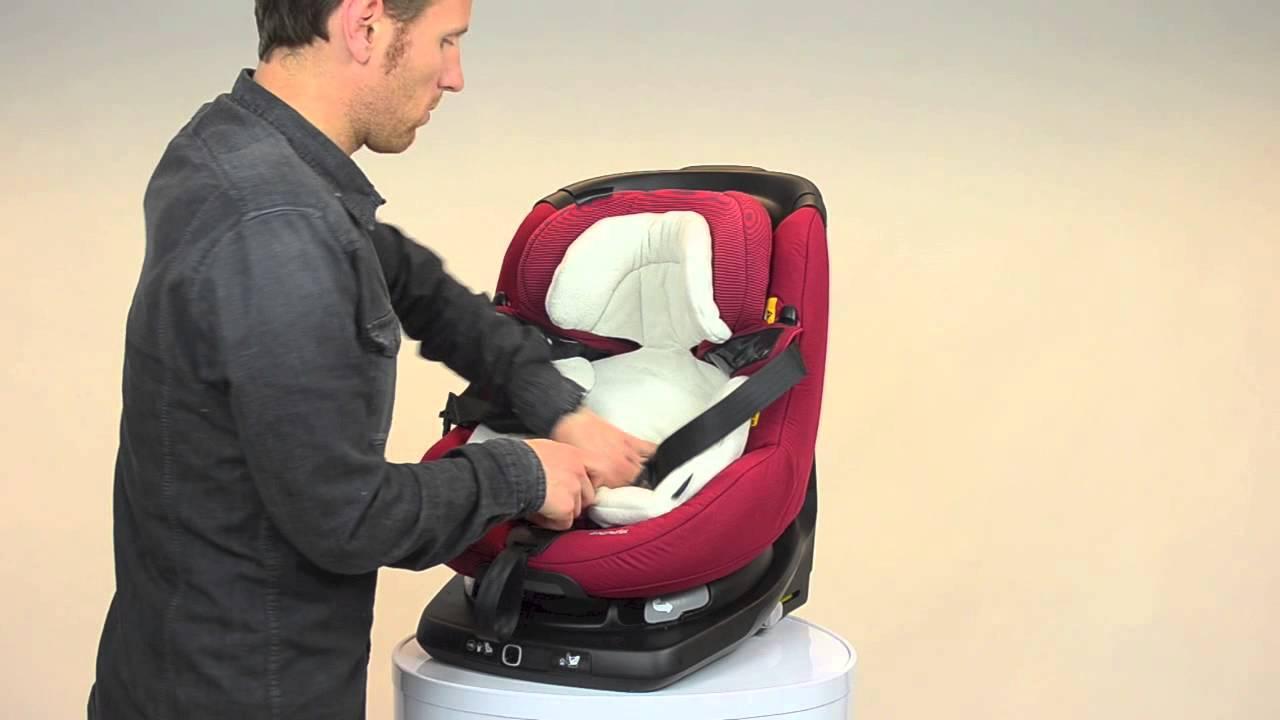 Maxi Cosi How To Install The Axissfix Comfort Cushion