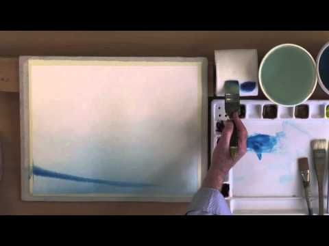 Painting Rippled Water In Watercolor