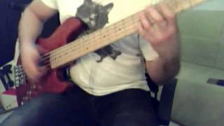 Some slap with Warmoth Jazz bass East Preamp and Delano Pickups