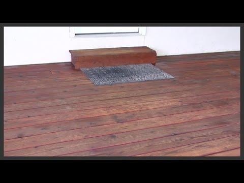 Wood Deck Staining Sealing
