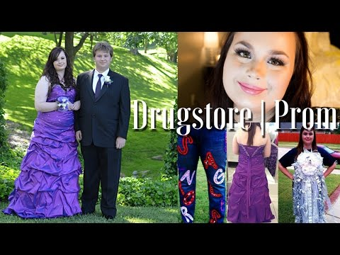 Drugstore | Prom Edition | Makeup + Hair Tutorial + My prom experience!
