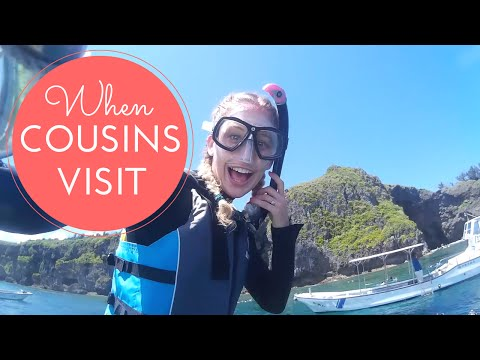 EXPLORING OKINAWA WITH MY COUSIN!