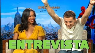 Spider-Man: Homecoming - Entrevista a Tom Holland y Laura Harrier