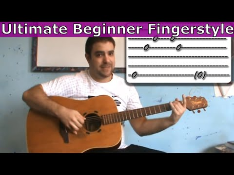 Ultimate Beginner Fingerstyle Lesson (Essentials + Exercises) - Guitar Tutorial