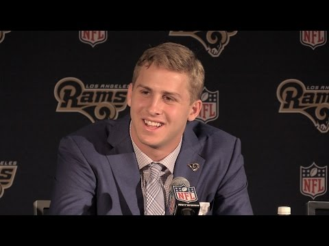 Rams quarterback Jared Goff's introductory press conference
