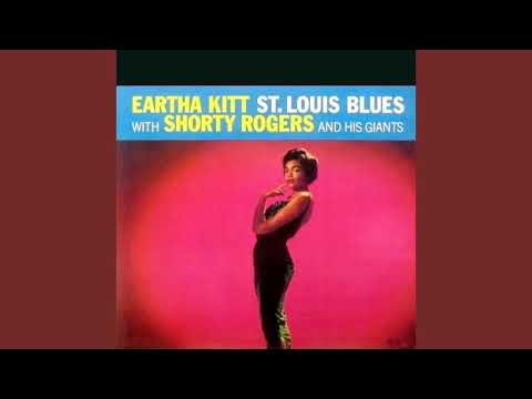 Eartha Kitt with Shorty  Rogers and His Giants  - St Louis Blues   ( Full Album  )