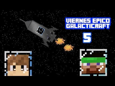 ¡¡SOY UNA BRUJA!! VIERNES EPICO EP. 5 MINECRAFT GALACTICO | HEY BROWN ALEX BROWN