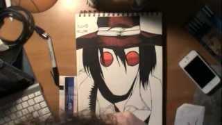 Coloring Alucard (Hellsing)