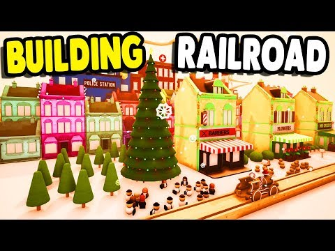 COOLEST RAILWAY BUILDING GAME - Big Favorite   Tracks: The Train Set Game Gameplay