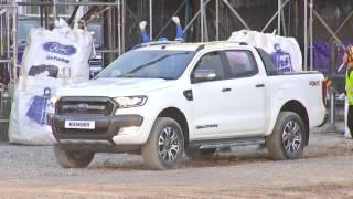 Ford Ranger 2016: Video phô diễn sức mạnh - Giá xe Wildtrak 3.2 và 2.2