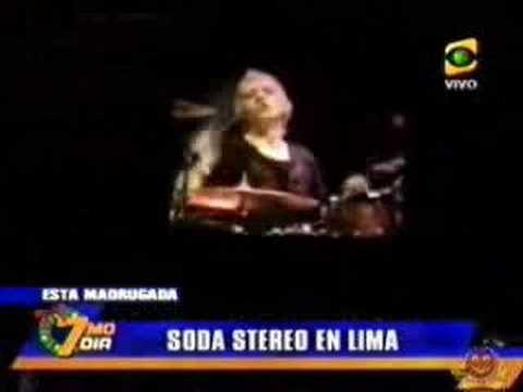 Soda Stereo en Lima : Me Verás Volver (Tour 2007)