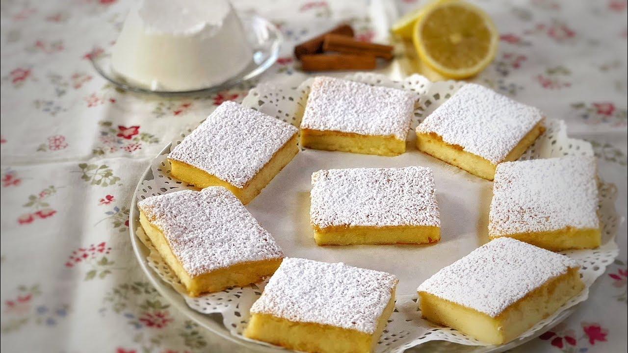 Quadrotti ricotta e limone di benedetta ricetta facile for Torta di mele e yogurt fatto in casa da benedetta