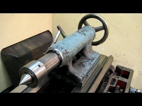 Токарный станок 1А616 ремонт задней бабки без замены пиноли
