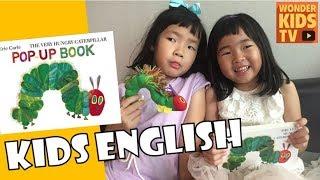 [kids english] 배고픈 애벌레. kids english. 키즈잉글리쉬 The Very Hungry Caterpillar by Eric Carle
