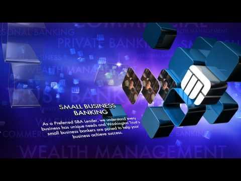 DSE 2013 Content Nominee Washington Trust Bank - Digital Media Network Videowall