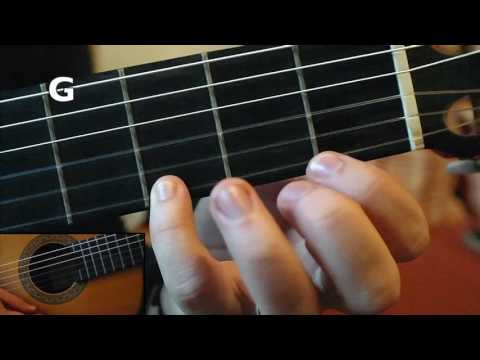 Lehrvideo Fluch der Karibik - Gitarre
