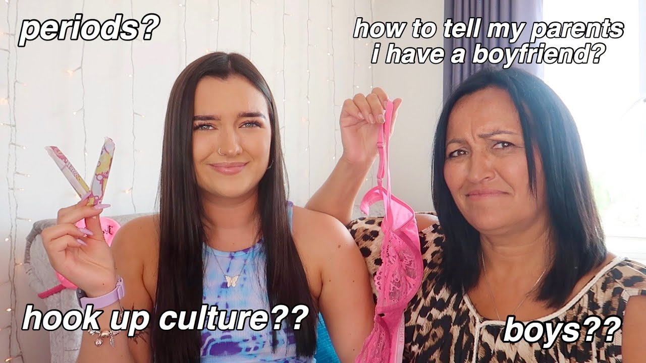 GIRL TALK with my MUM | Birth Control, Sex, Periods & More