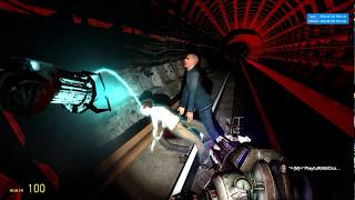 G.Mod-Metrostroi:Видео 18+: В тоннеле: Хлюп хлюп хлюп!:)Секс в припадке Эпилепсии!:)Ему удобно?!:)))