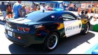 Camaro da Policia de Richmond - California