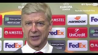 AC Milan 0-2 Arsenal - Arsene Wenger Post Match Interview