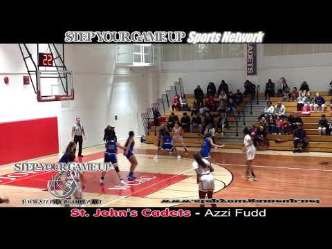 "St. John's Azzi Fudd's EPIC 43 PT, 9 3-POINTERS MADE, *2,000th POINT ""STEPH CURRY LIKE"" PERFORMANCE!"