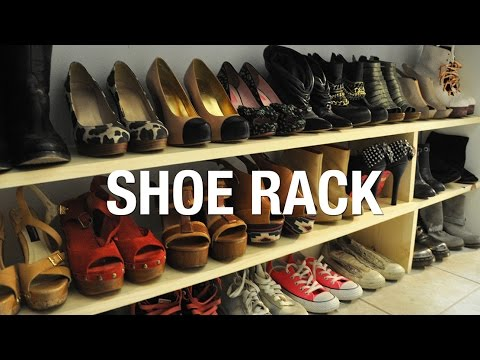 Diy wooden shoe rack superholly youtube diy wooden shoe rack superholly solutioingenieria Image collections