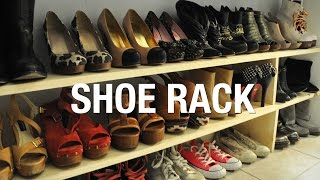 This video is not available. DIY Wooden Shoe Rack Superholly